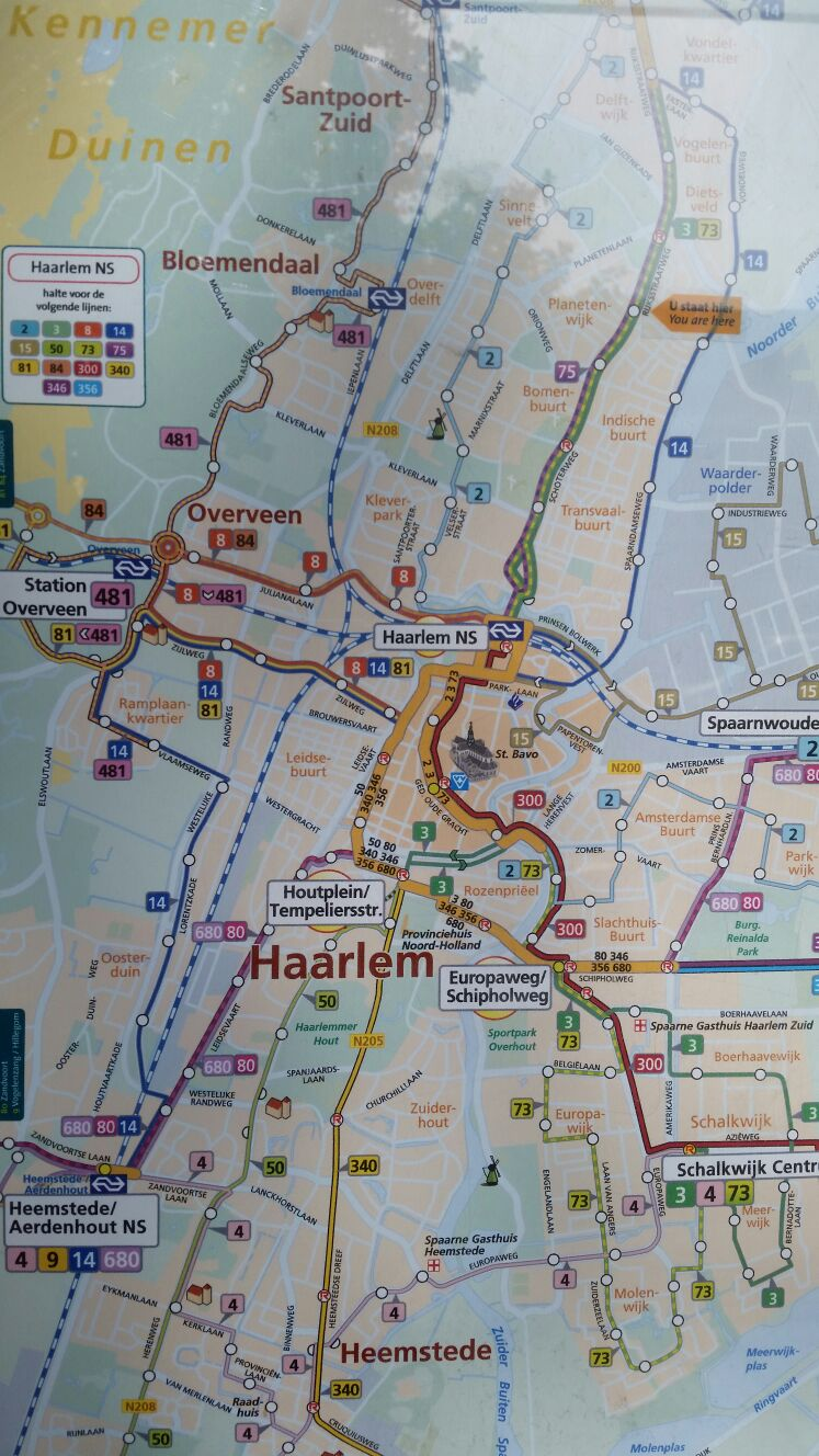 Haarlem Map From Sat June 11 2016