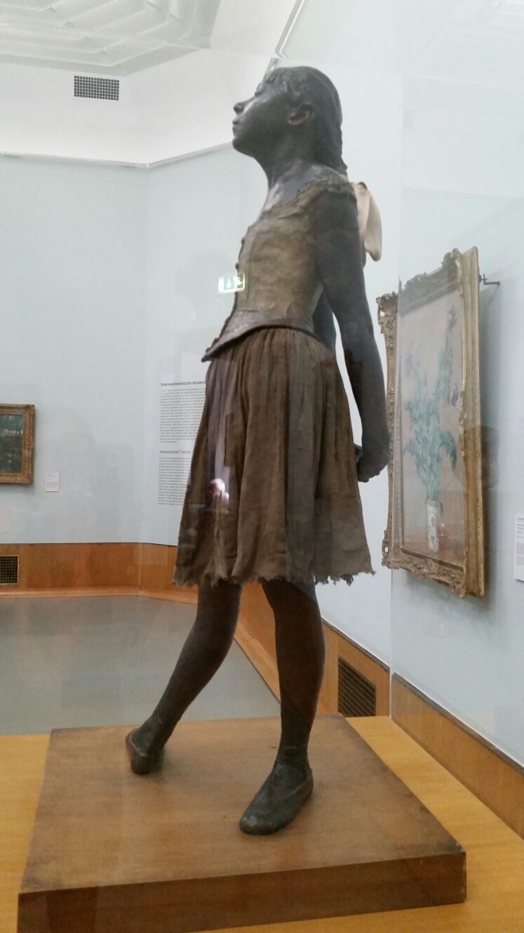The dancer by Edgar Degas (1922)