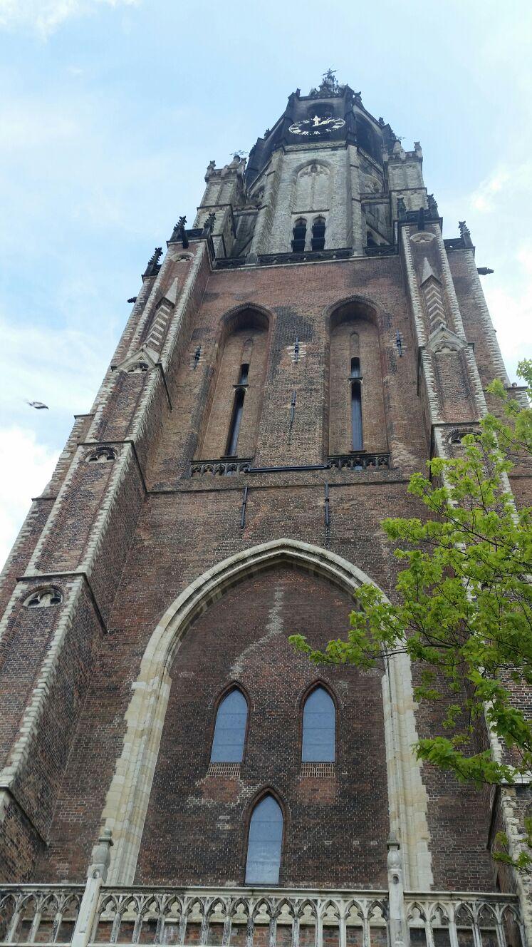 The new church.
