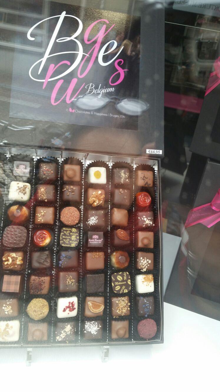 Chocolate  is everywhere