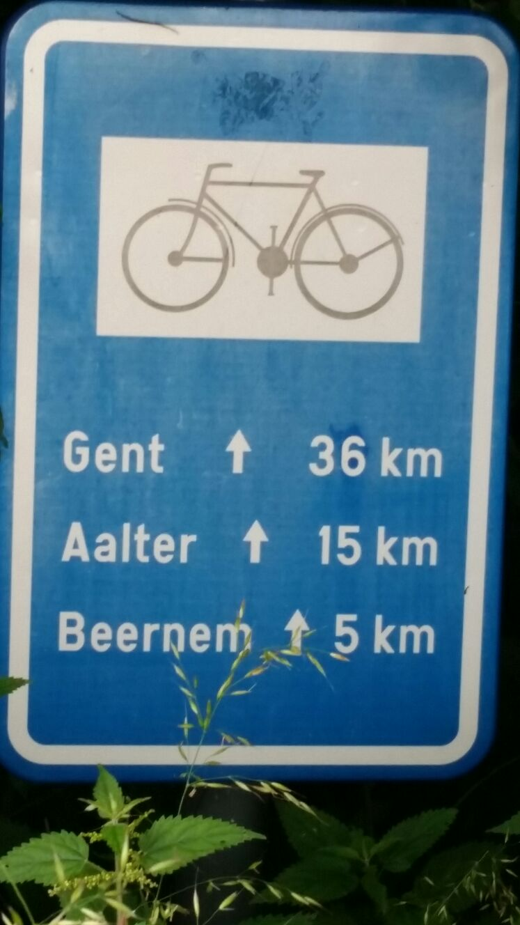 Distance to and from...headed to Gent